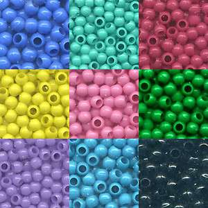 200   5mm x 7mm Pony Beads   Color Choice