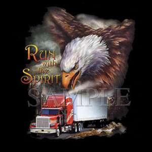 00853 American Truck / Trucker / LKW Motiv T Shirt