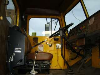1985 Autocar Volvo Crane truck 6x6 with 60k miles and Telect Derrick