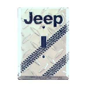 2 Jeep Metal Diamond Light Switch Plates