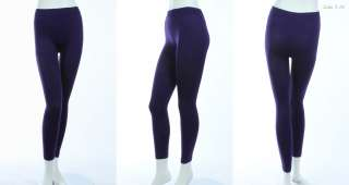 SEAMLESS Full Long Leggings Tights Skinny Pants Various Color and Size