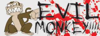 Funny Evil Monkey Family Guy Bumper Sticker