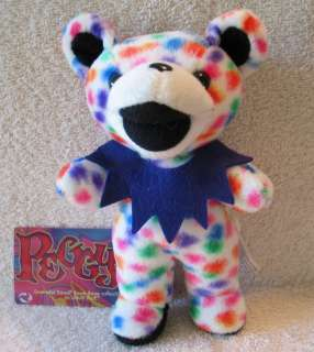 Grateful Dead Bean Bear   Peggy O   NWT