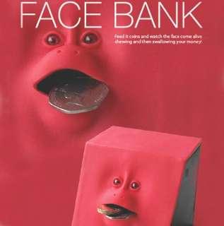 Unique Happy Face Piggy Bank Eat Coins  Face Money Bank Greek Gadgets