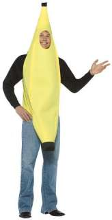 BANANA Full Body Fruit Costume Suit Funny Adult Mascot