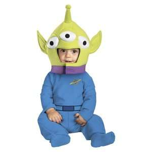 Infant/Todler Boys/Girls Disney Toy Story Alien Halloween Costume 12