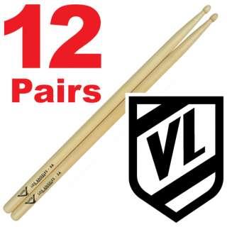 VATER Los Angeles 5A Wood Tip Drum Sticks VH5AW 12 pr