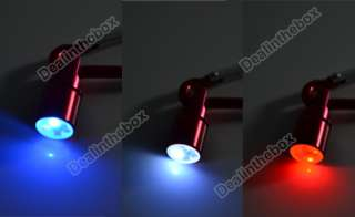 New Red Dog Cat Pet Safety Flash LED Light Collar Tag