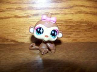 LITTLEST PET SHOP circus monkey bird weasel animals GUC play toys LPS