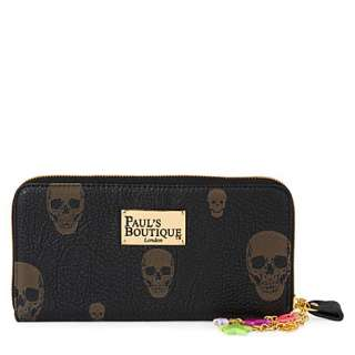 Lizzie skull print purse   PAULS BOUTIQUE   Purses   Handbags