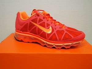 Mens Nike Air Max+ 2011 Running Shoes Max Orange/Total Orange