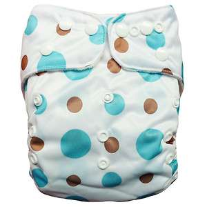 BABY AIO Re Usable CLOTH DIAPERS NAPPY + 1 INSERT G08