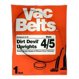 Micro Clean Dirt Devil 4/5 Vacuum Belt for Upright Vacuums 32140 at