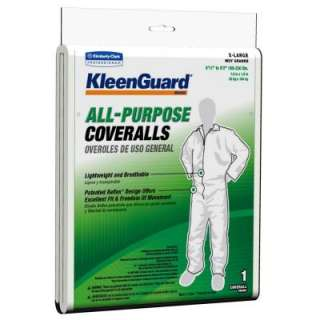 KLEENGUARD White Extra Large All Purpose Coveralls 76395 at The Home