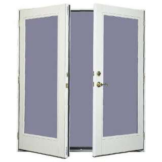 French patio door with tilt and raise blinds h37797 for French patio doors outswing home depot
