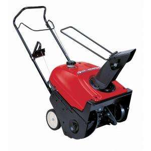 Honda 20 in. Single Stage Gas Snow Blower HS520A at The Home Depot