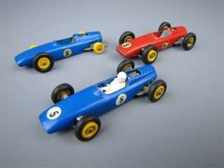 Vintage Matchbox BRM Racing Car No.52 2 Blue 1 Red