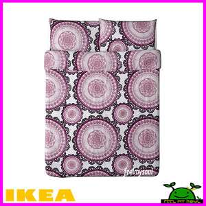 Ikea Lyckoax Bed Duvet Cover w/Pillowcase(s) King Queen Twin New