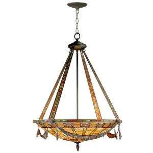 Light Hanging Antique Bronze Chandelier STH11062