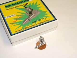 Rare Valentines Nano Bee 0.006cc Diesel Model Engine