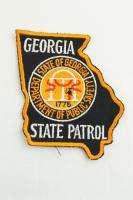 Georgia GA State Police Trooper Uniform Patch Highway Patrol