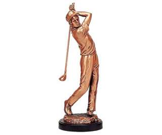 Golfer   Golf Sports Sport Golfing Club   Copper Statue