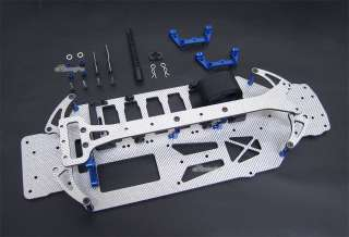 Graphite Chassis Convention For Team Associated TC4 New