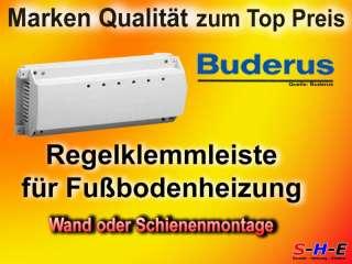 St. Buderus Empur Regelklemmleiste für Fußbodenheizungsverteiler