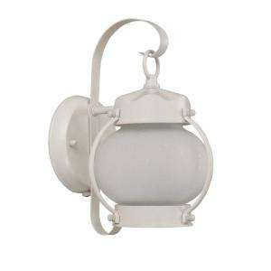Glomar Onion Wall Mount Outdoor White Light Fixture HD 3941 at The