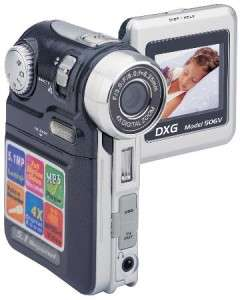 NEW Digital Camcorder Black hand held Compact Video Camera 4x Zoom
