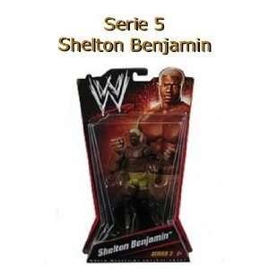 Serie 5 Wrestling Action Figur SHELTON BENJAMIN  Spielzeug