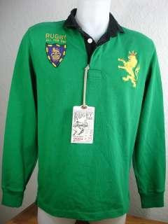 Ralph Lauren RUGBY Shirt Jersey SKULL & CROSSBONES S