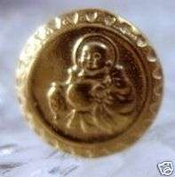 Gold Plated Buddha ring Buddah protection good luck