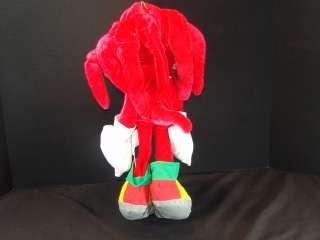 SEGA GENESIS SONIC THE HEDGEHOG RED KNUCKLES PLUSH STUFFED ANIMAL TOY