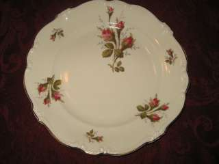 ROSENTHAL SELB GERMANY POMPADOUR MOSS ROSE DINNER PLATE