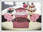 Cupcake Party Place Mats & Table Runners Pattern to Make Susie C
