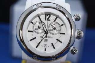 Womens Glam Rock GK1106 White Miami Beach Chronograph Swiss Watch New