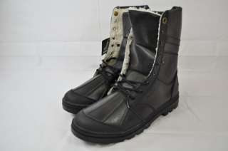 ROC STADIUM MENS FOLDING/ANKLE BOOT BLACK FLEECE LINING SIZE 10 (#60