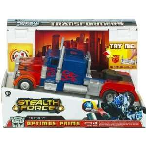 Transformers Stealth Force Optimus Prime Truck  Spielzeug
