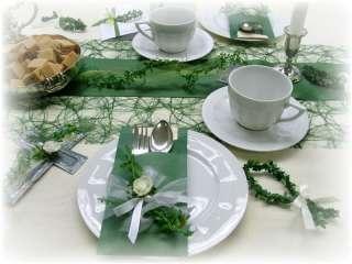 . Tischdeko Kommunion Konfirmation grün weiß 4250523105133
