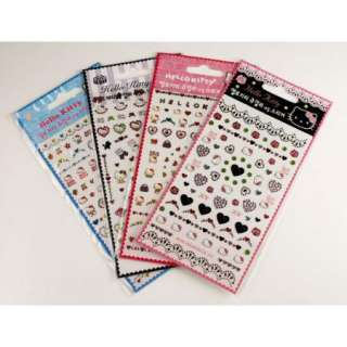 Hello Kitty Petite Jewelry Sticker Diary Nail Decal KS154
