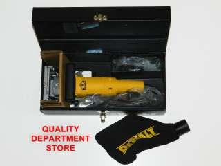 NEW DEWALT HEAVY DUTY PLATE JOINER KIT DW682K INSIDE METAL TOOL BOX