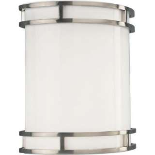 Brushed Nickel 1 Light Wall Sconce P7085 09EBWB