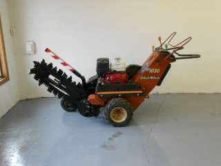 1030 Walk Behind Personell Trencher New Honda GX340 Engine Nice