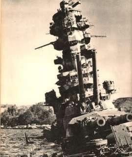 Navy BATTLESHIPS Yamato Kongo Hiei Rare 2 Vol HC Pictorial Set