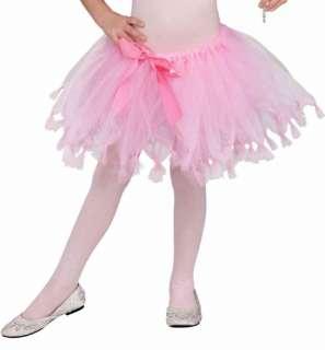 Pink Princess Tutu Child Costume Accessory One Size NEW