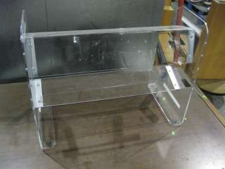 CLEAR PLASTIC DISPLAY   PRICE REDUCED 30% SEND OFFER