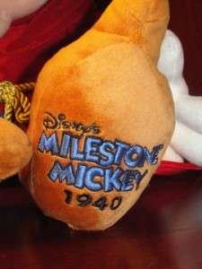 Mickey Mouse Sorcerer Stuffed Animal Mouse Plush Disney Milestone w