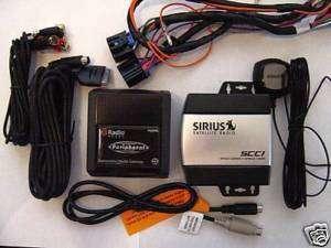 Chevrolet Cobalt/Malibu/HHR Sirius Radio/iPod Combo Kit
