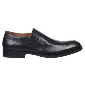 Johnston & Murphy Mens Tyndall Moc Venetian Black Leather Shoe 20